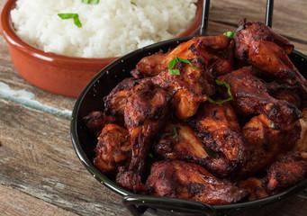 Indian tandoori style chicken