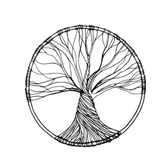 Tree in vector
