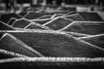 Reichstag Mahnmal Denkmal zur Erinnerung an 96 von den Nationalsozialisten ermordete Reichstagsabgeordnete