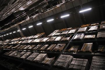 物流センターの倉庫