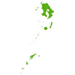 鹿児島 地図 緑 アイコン
