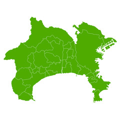 神奈川 地図 緑 アイコン