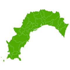高知 地図 緑 アイコン