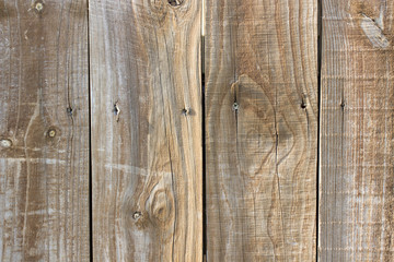 Weathered wood fence background