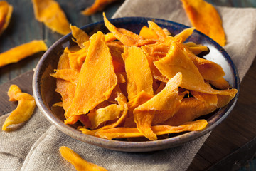 Raw Organic Dried Mangos