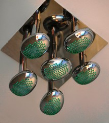 Six shower heads in one
