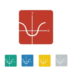 mathematics logo icon Vector