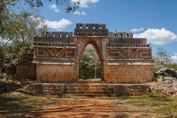 Ruins of the ancient Mayan city of Labna, Mexico