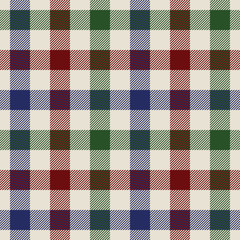 plaid material green red blue fabric in a squares