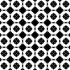 White and black patterns. B