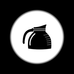 vector kettle icon