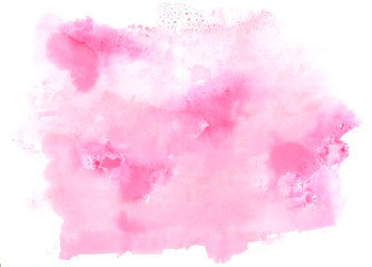 watercolor background pale pink