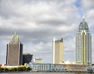 Mobile skyline, Alabama, USA