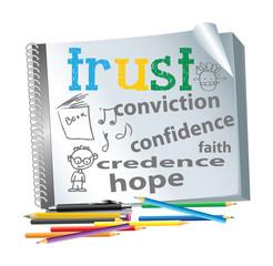 motivational slogan collage vector