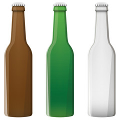 Illustration Vector Graphic Beer Bottle