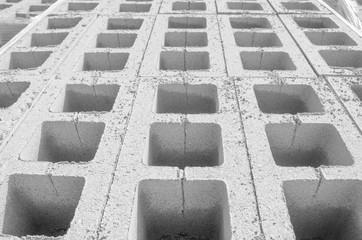 cinder blocks background