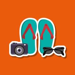 Vacations icon design, vector illustration
