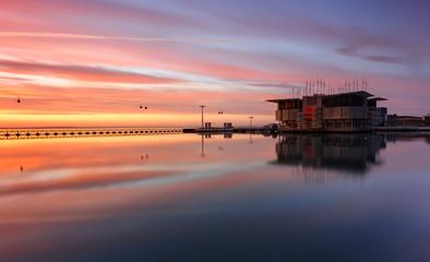Sunrise at Lisbon, Oceanário de Lisboa, Parque das Nações