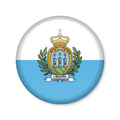 San Marino - Button