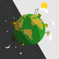 Earth Day Vector Art
