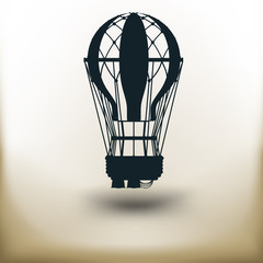 pictogram Air Balloon