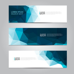 Vector design Banner background, illustration EPS10