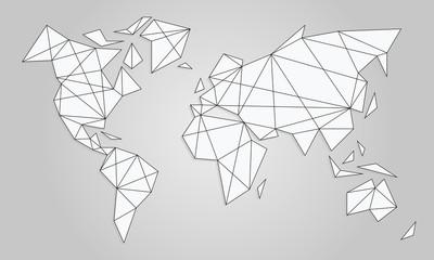 Carte Du Monde Origami.Search Photos By Diatomee