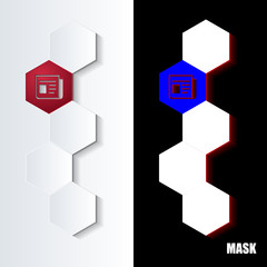 Hexagons_Red_Icon_Vertical