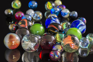 Various Glass Marbles