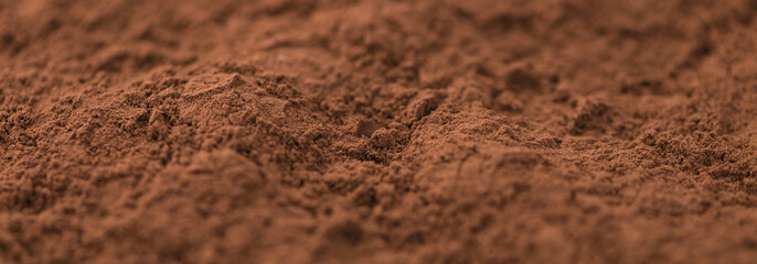 Cocoa powder (background image)