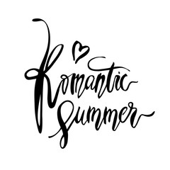 Romantic Summer card.