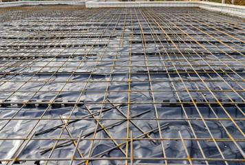 Armierung einer Bodenplatte