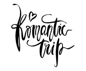 Romantic Trip card.