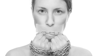 woman in captivity