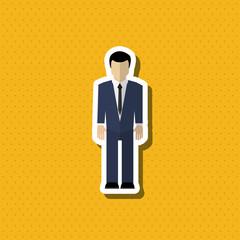 Business icon design, vector illustration