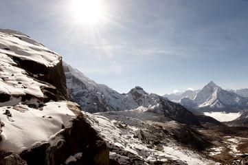 Fototapete - Himalayas - Nepal