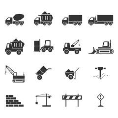 Construction icon set,Vector EPS10.