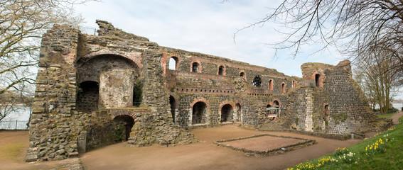 Ruine Kaiserpfalz Kaiserswerth Düsseldorf