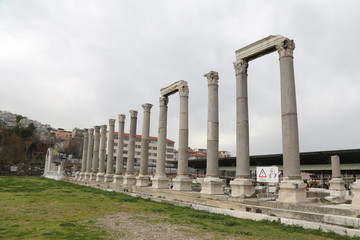 Agora of Smyrna in Izmir, Turkey