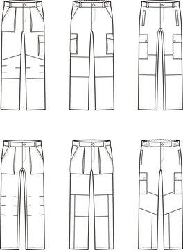 Work pants set