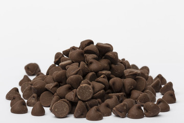 Chocolate Chips Pile