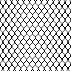 Seamless chain link fence silhouette pattern texture wallpaper