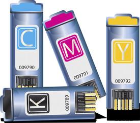 vector image of folders.