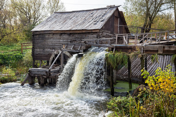 Old water mill