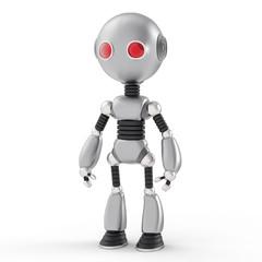 Humanoid Robot Illustration