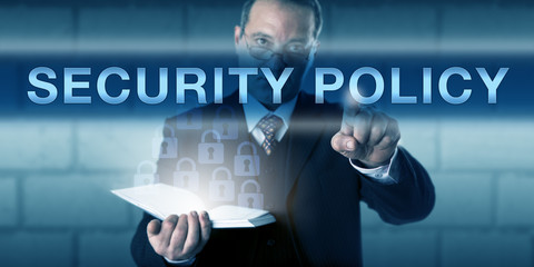 Critical CISO Pushing SECURITY POLICY