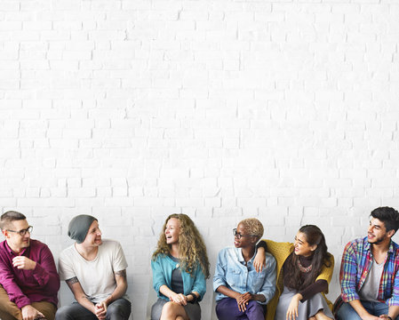 Friends Talking Communication Discussion Unity Concept