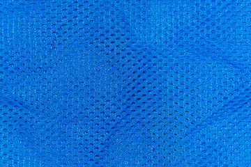 Blue mesh fabric for the background
