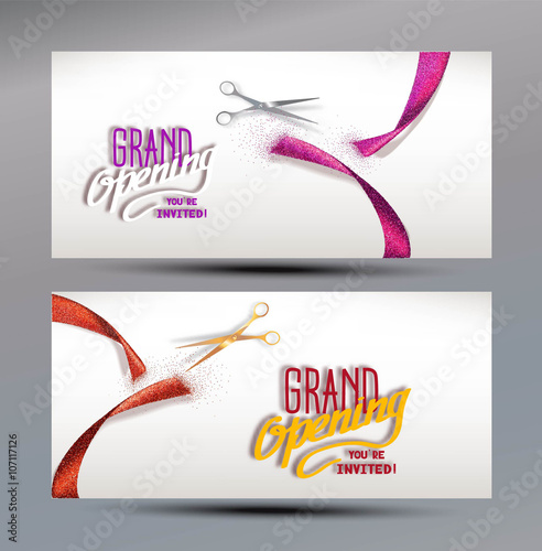 grand opening banners