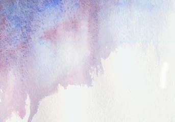 Wet Watercolor Background